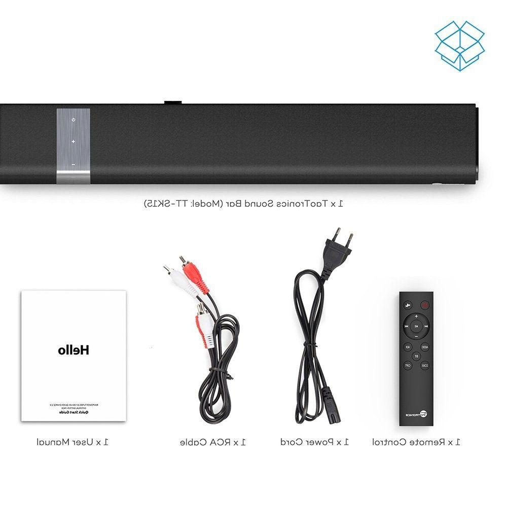 Wired and Wireless Bluetooth Audio (34-Inch...