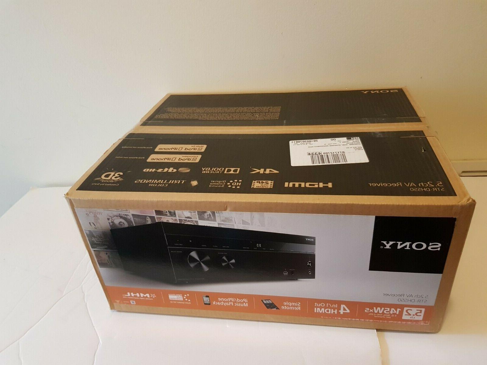 strdh550 5 2 channel 4k av receiver