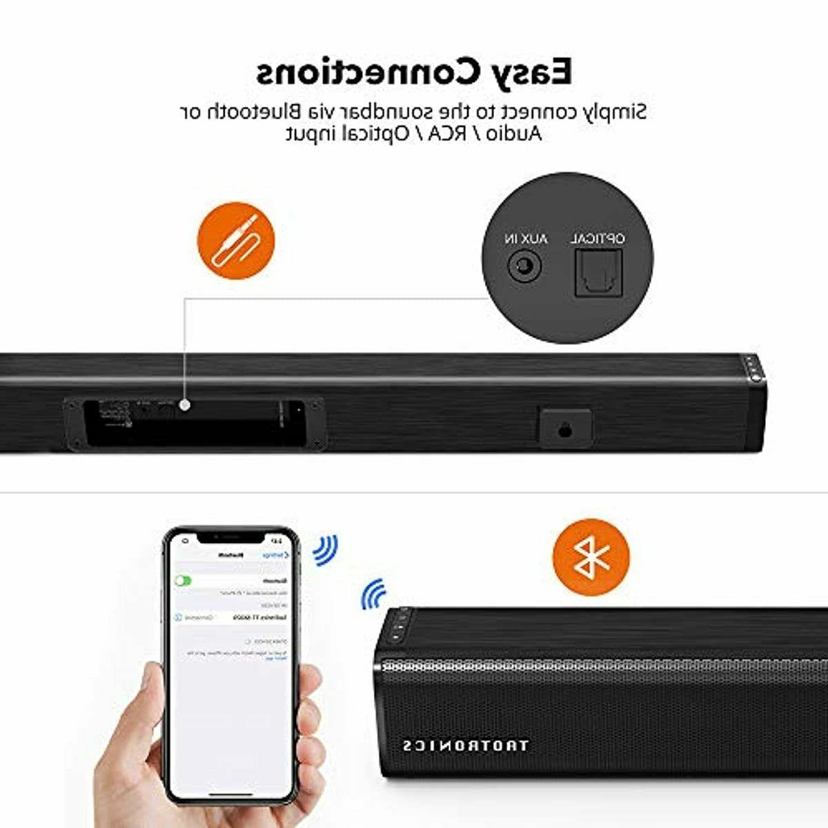 Surround Sound Bar Best TV Home Suround Soundbar Wireless