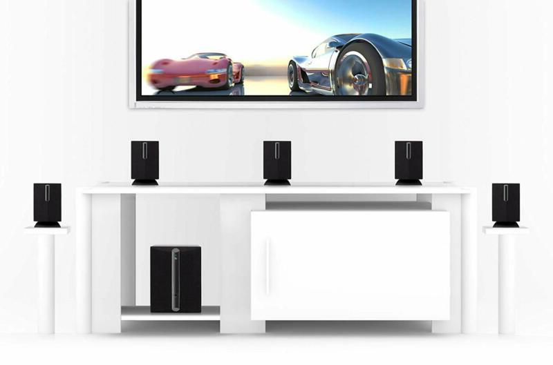 TV Home Theater Speaker System Surround Sound Bar Set 6 Spea