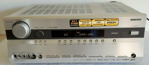 tx sr605 7 1 surround sound home