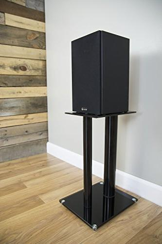 VIVO Premium Speaker Stands Pillar for Book Speakers