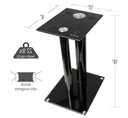 VIVO Premium Floor for Book Speakers