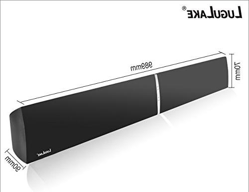 """39"""" Wired and Wireless Bluetooth Wall Sound -Optical Cable Included"""