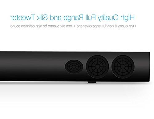 """39"""" and Bluetooth Audio Included"""