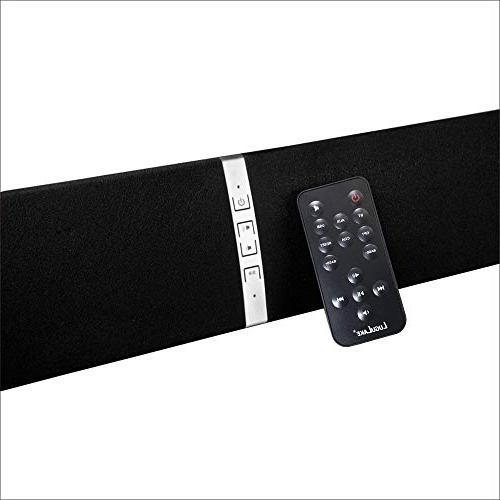 "LuguLake 39"" Bluetooth Sound Bar -Optical Included"
