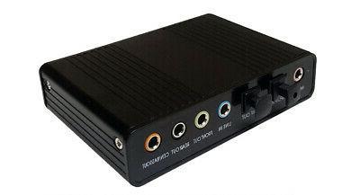usb 6 channel surround sound converter