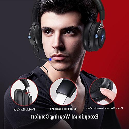 Over Ear True 7.1 Surround Sound for PC
