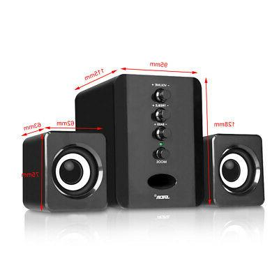 USB Speakers Bass Stereo Box for Laptop
