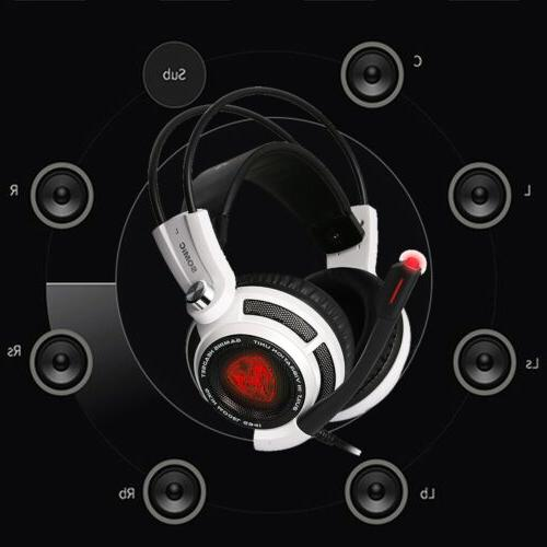 Somic Virtual HiFi Surround Sound Gaming Headset Earphones Earband