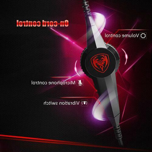 Somic G941 7.1 Digital Virtual headset Mic Control @