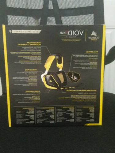 Corsair Void Yellow Headsets for PC NEW