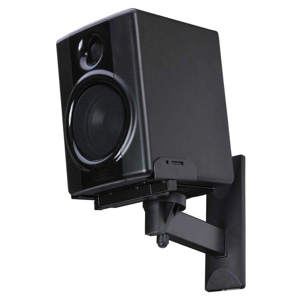 Wall Mount Speaker Sound Audio Mounting Bracket Shelf