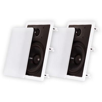 wall speakers home surround pair