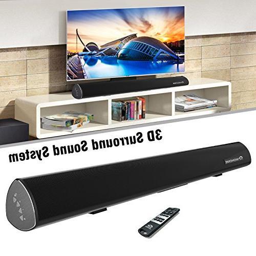 wireless audio soundbar home theater