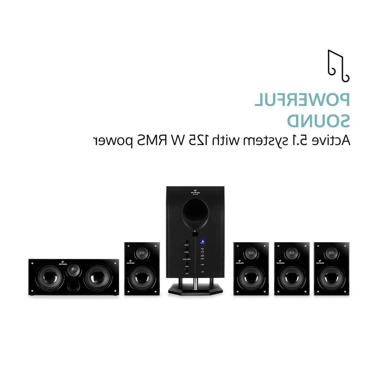 Wireless Surround System Home Entertainment Theater Speaker