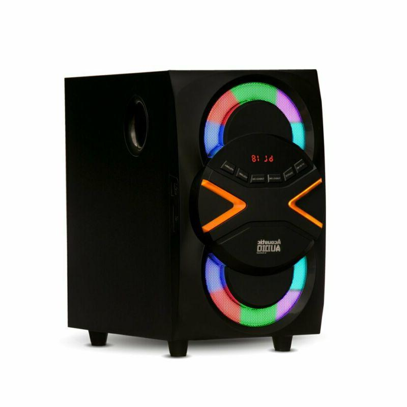Wireless Surround System Home Entertainment Bluetooth