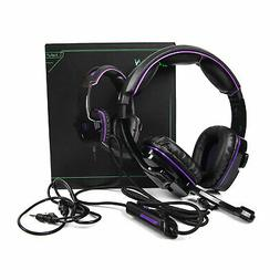 LETTON L8 Surround Sound PC Stereo Gaming Headset with Mic 3