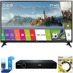 """LG 49"""" Class Full HD 1080p Smart LED TV 2017 Model  with Syl"""