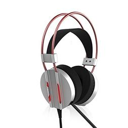 LED Light Noise Canceling Gaming Headphone, ICE FROG Wired 7
