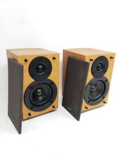 MINTY Sony SS-CEX1 Surround Bookshelf Speakers Wood Finish S