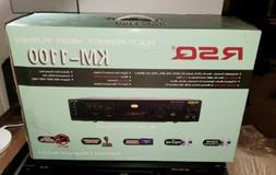 multi format media dvd player karaoke cd