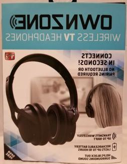NEW IN THE BOX Sharper Image Ownzone Wireless TV Headphones