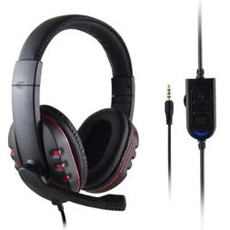 New Mic Stereo Surround Sound Game Headphone Headsets For PS