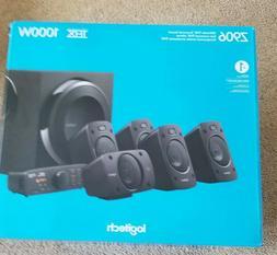 New Sealed in BOX Logitech Z906 5.1 SURROUND SOUND SPEAKER S