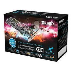 New ASUS Xonar DGX Dolby5.1 Headphone AMP Gaming PCIe Audio