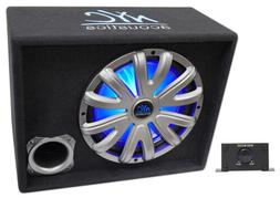 "NYC Acoustics NSE12L 12"" 1200W Powered/Amplified Car Subwoof"