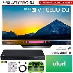 """LG OLED65B8PUA 65"""" Class B8 OLED 4K HDR AI Smart TV  + LG UB"""