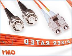 om1 lc duplex fiber patch