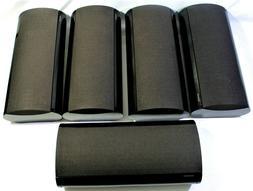 ONKYO SURROUND SOUND SPEAKERS 5 SYSTEM SET SKF-640F/SKC-640C