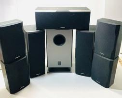 Onkyo Surround Sound  7 Speakers + Subwoofer SKB540, SKW330,