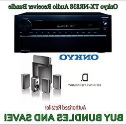 Onkyo TX-NR838 7.2-Channel Network A/V Receiver Black + Defi