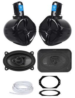 Overhead Soundbar Rollbar+Front Speaker Upgrade for 2003-200