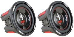 """Boss P106DVC 4200 Watt Per Pair 10"""" Dual 4-Ohm Voice Coil P"""