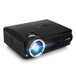 iRULU P4 HD LED Video Projector Multimedia Home Cinema Theat