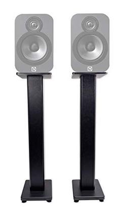 "Pair 36"" Bookshelf Speaker Stands Q Acoustics 3020 Bookshelf"