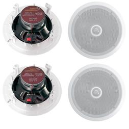 Pyle PDIC80 8'' 1200W 2-Way In-Ceiling/Wall Home Speaker Sys