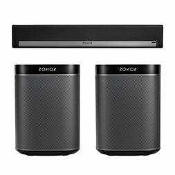 Sonos PLAYBAR Surround Sound System with PLAY:1 Pair