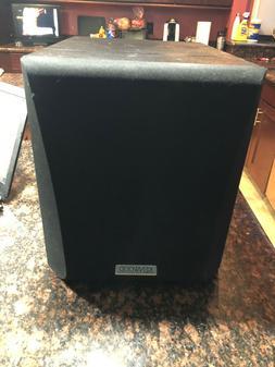 Kenwood Powered Subwoofer 5.1 Channel Surround Sound Bass Bl