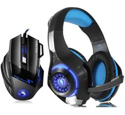 Pro Gaming Headset With Mic For XBOX One PS4 PC Headphones M