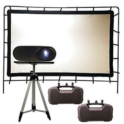 Total HomeFX Outdoor Projection Pro Theatre Kit, HDMI and Bl