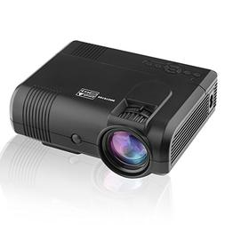 Projector Mlison 2018 Upgraded HD Game Movie Mini Portable +