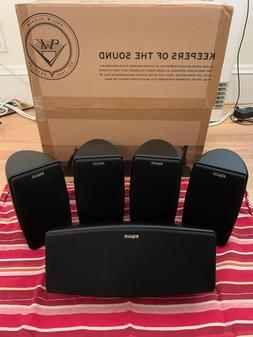 Klipsch - Quintet V 5.0 Channel Home Theater System Speakers