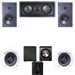 Klipsch R-1650-W In Wall #1 5.1 Home Theater System-FREE PL-