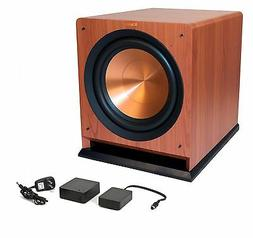 Klipsch R112SW Cherry and WA2 Subwoofer and Wireless Kit
