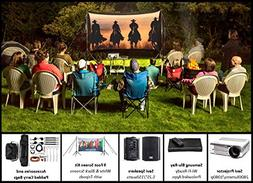 Backyard Theater Kit | Recreation Series System | 9' Front a